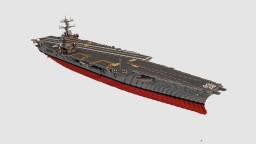 USS Enterprise (CVN-65)  1:1 scale Minecraft