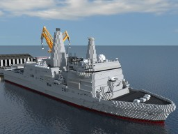Amphibious transport dock - Ato class Minecraft