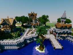 Averus a Medival City first steps Minecraft Project
