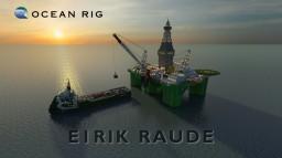 Eirik Raude. [Scale 1:1] Minecraft Map & Project