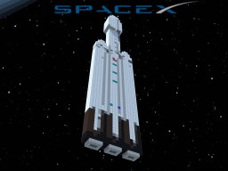 SpaceX's Falcon Heavy Minecraft