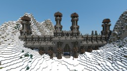 Snowy Kingdom Walls & Gates Minecraft Project