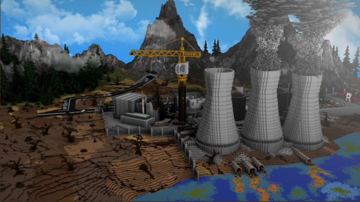 First picture of the map, render by Sweerd