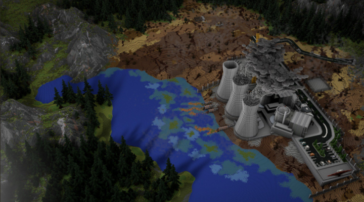Second picture of the map. Render by Sweerd