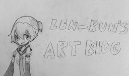 >>Len-Kun's Art Blog>> Minecraft Blog Post