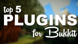 My first 5 plugins made by me! Minecraft Blog Post