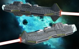 The Charon Class Heavy Destroyer-Escort and The Octus Class Medium Destroyer-Escort Minecraft