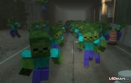 Zombie Attack - v.0.1 Minecraft Project