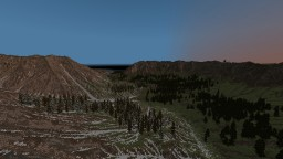 Mountain Test Minecraft Map & Project