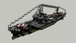 Italian Orsa class Pegaso Torpedo Boat 1:1 Minecraft Map & Project