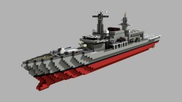 Type 23 Frigate || 1:1 Minecraft Project
