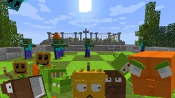 Plants vs Zombies Minecraft
