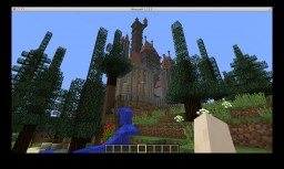 The Beast's Castle from Disney's animated Beauty and the Beast Minecraft Project