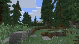 Blocky Mountains and Blocky Trees Minecraft Project