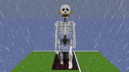Giant Skeleton Minecraft Map & Project