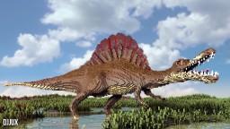 Spinosaurus Aegyptiacus Minecraft Map & Project