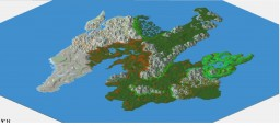 Edeas, Medieval RPG map Minecraft Project