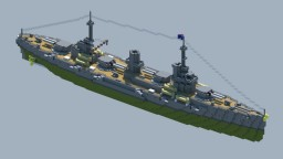 [OIR] Thela-class battlecruiser Minecraft Map & Project