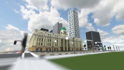 Portland project - Portland town hall [Exterior only + world download] Minecraft Map & Project