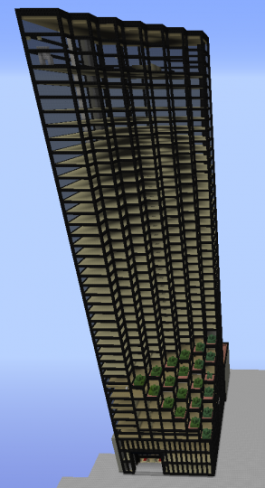 Trump Tower Minecraft Project
