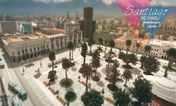Visit Santiago de Chile.-Download Minecraft Map & Project