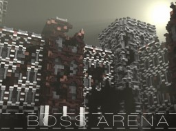 [BOSS ARENA] Futuristic Build Minecraft Map & Project