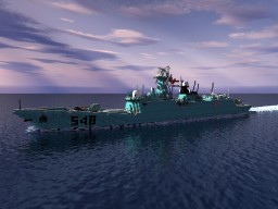 Type 054A frigate - Jiangkai II Class Minecraft Project