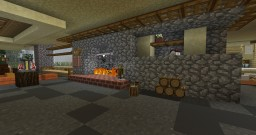 Frank Lloyd Wright's Fallingwater (Exterior) Minecraft Project