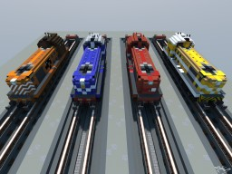 The Iconic English Electric 1400 Series Loco. Minecraft Project