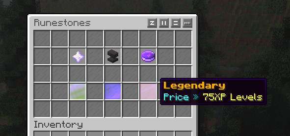 Custom Runestones with custom enchants