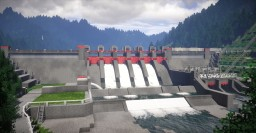 Itsumine River Dam Minecraft Map & Project