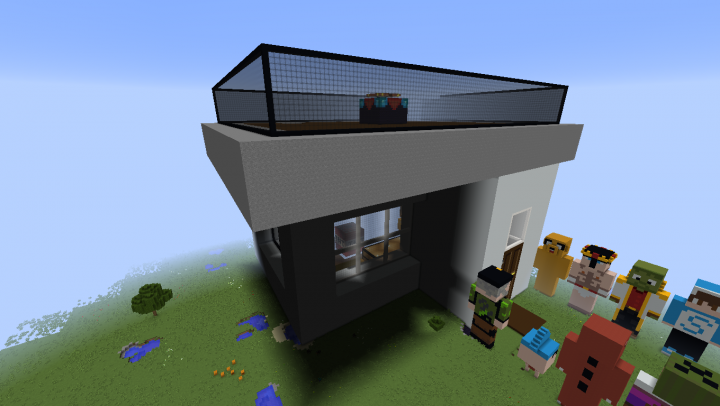 Biggest House In Minecraft Photo Library Gallery Public World Viewer