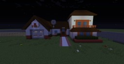 Rick and mortys house Minecraft Project