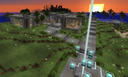Modern concrete house #1 Minecraft Map & Project