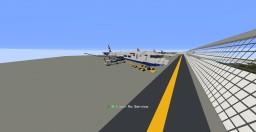 British Airways Boing 777-200 1:5:1 Minecraft Project