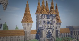 Stylish Gothic/Medieval Castle Concept Minecraft Project
