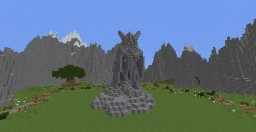 Talos/Tiber Septim Statue Minecraft Project