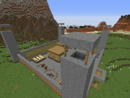 Minecraft The Walking Dead Prison Survival Horror map Minecraft Project
