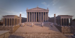 Temple of Venus & Roma. Conquest Reforged Minecraft