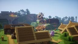 Little Town/Village. Minecraft Map & Project