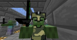 Camo and Blue Pvp Texture pack Minecraft Texture Pack