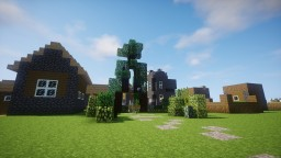 The most secure village in the world (in French) Minecraft Project