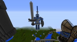 Silver Guard Statue Minecraft Project