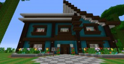 Minecraft My survival house on server brodaci.net verson 1.12 Minecraft Project