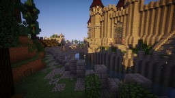 THE DRACONIAN CITY - (La Cité Draconienne) Minecraft Map & Project
