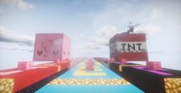 Be My Valentine: Lucky Block Race Minecraft Project