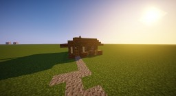 Small Medieval Starter House Minecraft Project