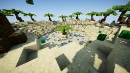 Tropical beach Minecraft Project