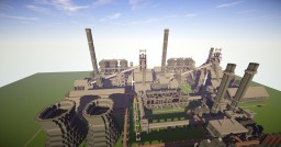 Steel Plant Minecraft Map & Project