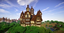 Ravenwood Castle by Halaciuga Minecraft